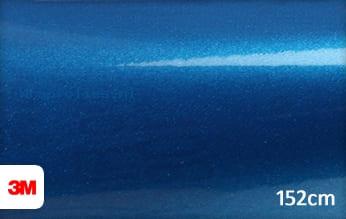3M 1080 G227 Gloss Blue Metallic wrap folie