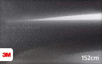 3M 1380 G281 Gloss Mineral Grey Metallic wrap folie