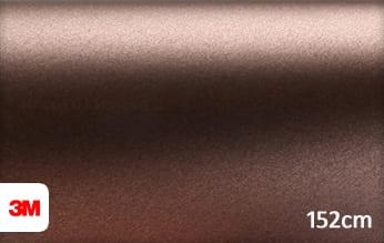 3M 1380 M219 Matte Brown Metallic wrap folie