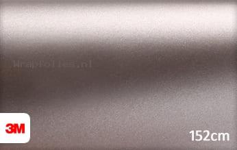 3M 1380 M230 Matte Grey Metallic wrap folie