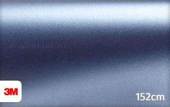 3M 1380 S257 Satin Ice Blue Metallic wrap folie