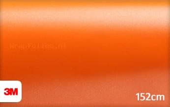 3M 1380 S284 Satin Autumn Orange wrap folie