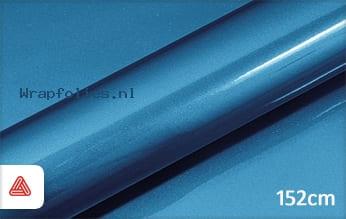 Avery SWF Bright Blue Gloss Metallic wrap folie