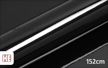 Hexis HX20889B Coal Black Gloss wrap folie
