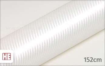 Hexis HX30CABPEB Carbon Pearl White Gloss wrap folie
