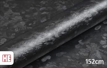 Hexis HX30CAF89S Black Forged Carbon Satin wrap folie