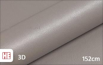 Hexis HX30PGGTAB Grain Leather Taupe Grey Gloss wrap folie