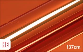 Hexis HX30SCH08B Super Chrome Orange Gloss wrap folie