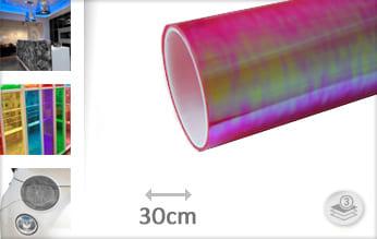 Flipflop roze transparant wrap folie