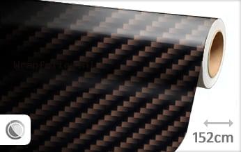 Bruin 2D carbon wrap folie
