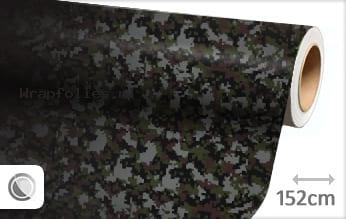 Camouflage digitaal wrap folie