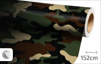 Camouflage leger wrap folie