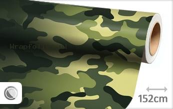 Camouflage oerwoud wrap folie