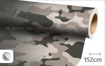 Camouflage wrap folie