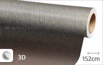 Geborsteld aluminium antraciet wrap folie