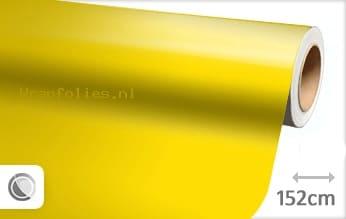 Glans geel wrap folie