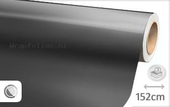 Glans metallic antraciet wrap folie
