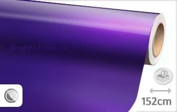 Glans metallic paars wrap folie