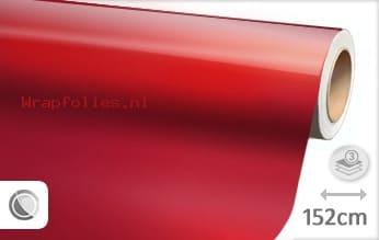 Glans metallic rood wrap folie