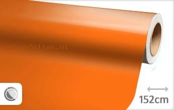 Glans oranje wrap folie