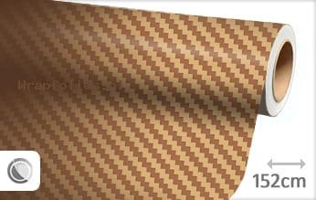 Goud 3D carbon wrap folie