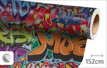 Graffiti wrap folie