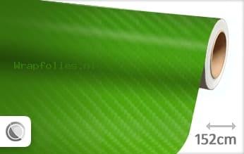 Groen 4D carbon wrap folie