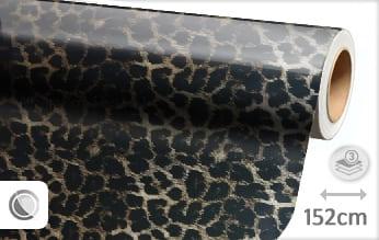 Luipaard print wrap folie