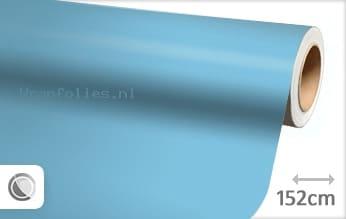 Mat babyblauw wrap folie