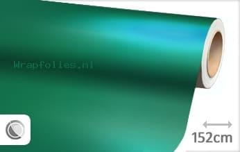Mat chroom turquoise wrap folie