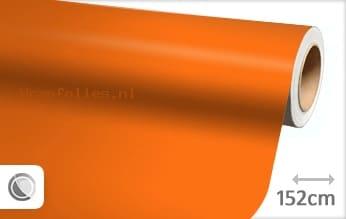 Mat oranje wrap folie