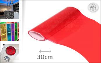 Rood tint wrap folie